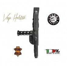 Porta Bastone Tonfa in Pelle Polizia Carabinieri Vigilanza GPG IPS Vega Holster Italia CC HOLDER  Art.1V25