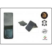Patella pelle + Fregio per portafogli 1WE Polizia di Stato  Operativi Vega Holster Italia Art.1WH86