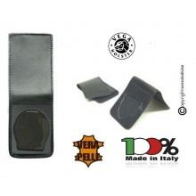 Patella pelle + Fregio per portafogli 1WE Carabinieri Operativi Vega Holster Italia Art. 1WH04