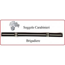 Soggolo Carabinieri Brigadiere CC  Art.NSD-S-CC-2