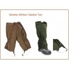 Ghette Tan Sabbia Militari Caccia Pesca Art.20123N