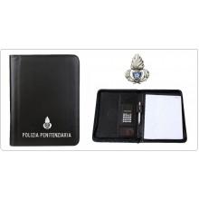 Porta Blocco Cartella con Penna Calcolatrice Ufficio Intervento Polizia Penitenziaria Art.20126