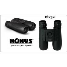 Cannocchiale  Binocolo VIVISPORT-16 Konus 16x32 Sport Caccia Militare Venatoria Art.2040