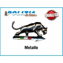 Pins Spilla  Polizia di Stato Squadra Volante Pantera Cromata Art.09639