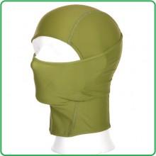 Passamontagna Balaclava Sottocasco Verde OD Microfibtra Elasticizata Art.214285V