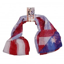 Sciarpa  Kefia Foular bandiera Americana Scarf USA flag big star Art.217231