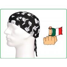 Bandana Sottocasco  Vaffa.... Cotone con Dito Art.219270-301