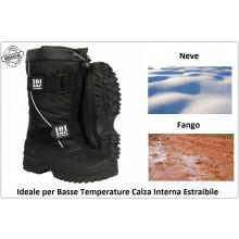 Anfibio Stivali Scarponi Boot Dopo Sci Doposci Neve Basse Temperature Modello Militare SWAT GIS NOX INC 101 Art.235202
