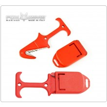 Taglia Cinture Giallo FRosso Emergenza Stradale Soccorritori 118 Protezione Civile Vigili del Fuoco Fox Rescue Tool Airborne Art. FX-640/22RD