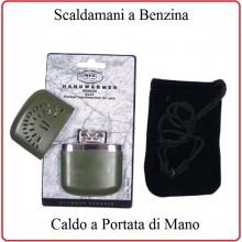 Scaldamani Scalda Mani a Benzina de Luxe Verde OD Climi Freddi Art.24683B