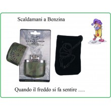 Scaldamani Scalda Mani a Benzina de Luxe Woodland Climi Freddi  Art.24683T