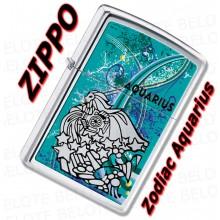 Zippo Zodiaco Acuario Art.24929