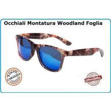 Occhiali Camo con Lente Blu Recon Sunglasses Camo Caccia Militari Esercito Tiro Modello  Art.255133B