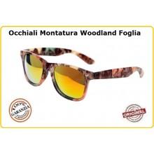 Occhiali Camo con Lente Gialla Recon Sunglasses Camo Caccia Militari Esercito Tiro Art.255133
