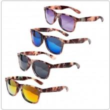 Occhiali Camo con Lente Nera Viola Blu Gialla Recon Sunglasses Camo Caccia Militari Esercito Tiro OFFERTA IMBATTIBILE Art.255133X
