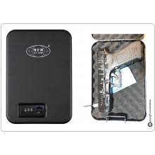 Cassetta di Sicurezza per Pistola Nera ,Metallo, con Chiusura a Combinazione Beretta Colt PX4 ecc. Art.27171