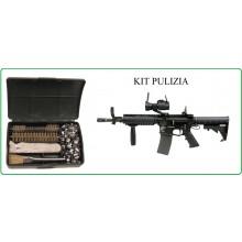 Kit Pulizia M19-M4 A catennella Compatto per Tasca Esercito Art.27383