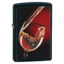 Zippo Glass Of Wine Art.28179