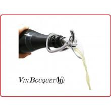 Tappo a Pressione con Apertura Champagne Vin Bouquet 2 in 1 Art.FIT007