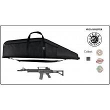 Fodero In Cordura Nera Trasporto Fucile Vega Holster Italia SPAS Beretta AR 70/90 Art.2B51-2B57