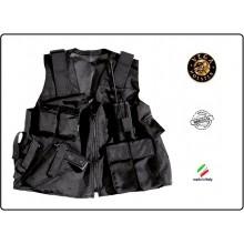 Gilet Militare Sicurezza Esercito Tattico in Cordura Vega Holster Italia Art.2ET00