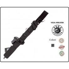 Fascia Elastica Multitasche con Fondina In borghese per Pistola e Accessori DESTRA Porto Occulto Vega Holsteer Italia Art.2ET01