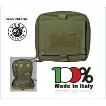 Tasca per uso Medicale o altro con Sistema Posteriore tipo MOLLE Vega Holster Italia  Art.2G12