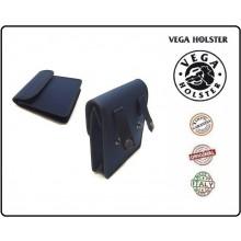 Borsetto in Cordura Tasca da Cinturone Vega Holster Italia Nero Blu Art.2G68