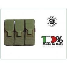 Triplo Porta Caricatore M16-AR70/90 Militare Carabinieri Esercito Vega Holster Italia Art.2SM14