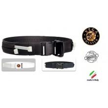 Cinturone in Cordura h 5 cm con Anima Iterna in Polimero  Manette Plastica non Comprese Polizia Vigilanza Security Vega Holster Art.2V52