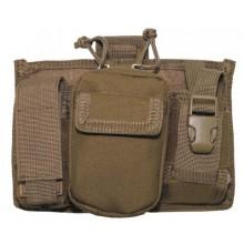 Tasca Militare Telefono e Accessori MOLLE Coyote Tan MFH Art.30608R