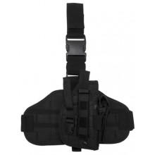 Fondina Professionale per Pistola Cosciale Universale Cordura 1000D Polizia Carabinieri Esercito Art.30708A