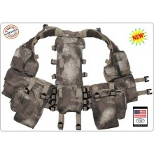 Tactical Vest - Gilet Tattico Modulare - Nuovo Mimetismo A-Tacs MFH Militare Soft Air Paintball  Art.30993P