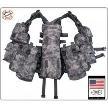 Tactical Vest - Gilet Tattico Modulare - AT DIGITAL MFH Militare Soft Air Paintball Art.30993Q