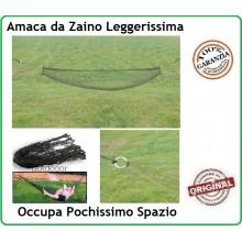 Amaca Ultra Resistente Campeggio Militare Avventura Bikers Leggera Nessun Ingombro Art.313245