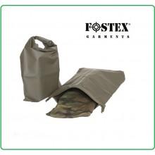 Sacca Trasporto Impermeabile Militare Packsack Drybag Military Verde Fostex Art.319461