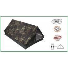 Tenda Canadese Flecktarn 2 Posti Campeggio Militare Pesca Caccia mis. 213x137x97cm Con Zanzariera Max Fuches Art.32123V