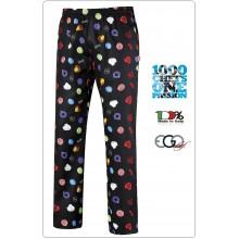 Pantalone Pant Coulisse Medicale Cuoco Chef BON BON Ego Chef Ravazzolo Italia  Art.3502145A