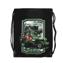 Sacca Cotone Rucksack with print jeep Art.351650-3012