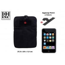 Borsa Nera da Cintura o Zaino Sistema M.O.L.L.E. Porta Tablet I-pad IPad new Style Cordura Polizia Carabinieri Vigilanza Soccorso Sanitario GPG IPS Art. 359377