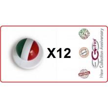 Bottone Bottoni Funghetto per Giacca Cuoco Chef Confezione 12 Pezzi Italia Ego Chef Art.BOTT-1