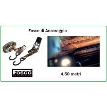 Fascia di Ancoraggio con Cricchetto Camo Woodland Fosco Ratchet Strap Fosco Art.419212