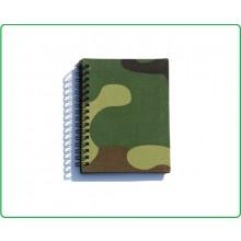 Quaderno Militare Esercito Copertina Tessuto Woodland Formato A6 Art.419228