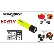 Torcia Led 143 metri 200 lm Nuova Certificata per Vigili del Fuoco Night Stick con Attacchi Torcia per Casco Sicor VFR 2000 e EVO Art.5490003000