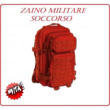 Zaino Tattico Rosso  M.O.L.L.E. Mod. US Assult I 30 Litri 118 Soccorso C.R.I. Art.14002010