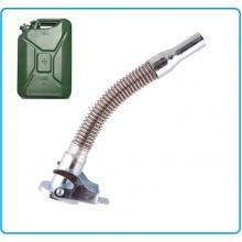 Beccuccio di Travaso per Tanica Taniche Carburante in Metallo Art.439205
