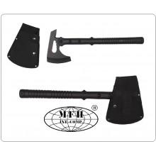 Ascia Accetta Tomahawk Tactical Novità ABS-Griff, Nylonscheide MFH Art.44305