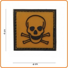 Patch Gommata cm 4.00x4.00 Dangerous  Toxic Tossico Art.444120-3593
