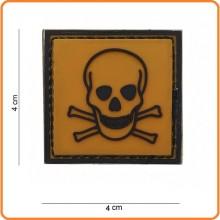 Patch Gommata cm 4.00x4.00 Dangerous  Toxic Tossico Art.444120-3593