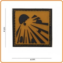 Patch Gommata cm 4.00x4.00 Explosive Materiale Esplosivo Art.444120-3594